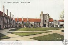 St. Cross Hospital Winchester  image from 1887 Old Unposted Postcard