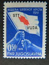 1701 YUGOSLAVIA TRIESTE SC RA3  MOUNTED MINT   CAT $24