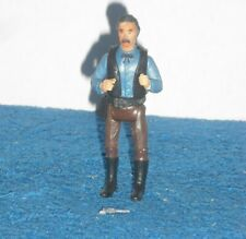 USED VINTAGE 1978 LEGENDS OF WEST WYATT EARP ACTION FIGURE EMPIRE TOYS - NO HAT