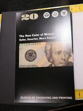 2004 $20 UNCUT STAR NOTE SHEET FEDERAL RESERVE U.S. CURRENCY BANKNOTES UNC 🌈⭐🌈
