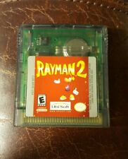 Rayman 2 Game Boy Color Nintendo Gameboy Video Game Tested & Working GREAT SHAPE