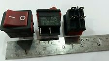 4 Pin ON/OFF 2 Position DPST Rocker Switch 20A/250V KCD2 2hp