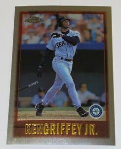 1997 Topps Chrome Jumbo Ken Griffey Jr. #101 MLB Seattle Mariners Sharp & Center