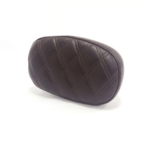 Triumph Bonneville Speedmaster Brown Quilted Passenger Backrest A2309160