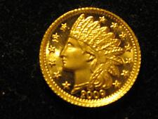 2009 1/10 Ounce .999 Daniel Carr Design Indian Head Gold Bullion Coin