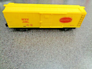 American Flyer S Gauge 1962 C1001 WSX White's Box Car, A Good Reproduction