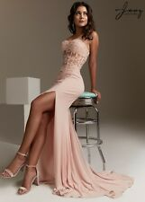 Jasz Couture Womens Prom Homecoming Wedding Pageant Social Dress Style 5439 -New