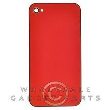 Door with Frame for Apple iPhone 4 CDMA Metallic Red Rear Back Panel Housing
