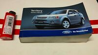 Ford Territory SX Mini Size Owner Manual Book,  SY 4speed covers too, glove box