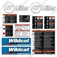 Miller Wildcat 200 Decal Kit Generator Decals - 7 YEAR 3M VINYL