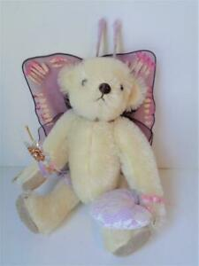 White Mohair Gorham ANGEL Teddy Bear Limited Edition #1261/2500