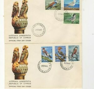 1969 CYPRUS - BIRDS ISSUE FDC FROM COLLECTION R1