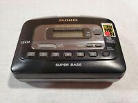 Aiwa TX456 Super Bass Portable Radio Personal Cassette Tape Player