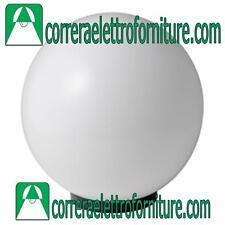 MARECO 1080101B Lampione globo illuminazione giardino esterno SFERA 200 mm opale