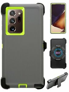 For Samsung Galaxy Note 20 / 20 Ultra Hard Shockproof Case Cover with Belt Clip