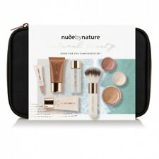 Nude by Nature Natural Beauty Good For You Complexion Set - Light/Medium