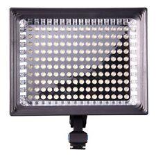Cameraplus ® Universal Professional alta luminosità 160 LED Luce video + BATTERIA