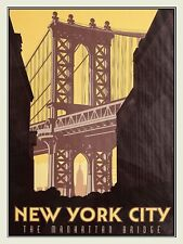 New York City, Retro Vintage Metal Sign, Man Cave, Gift
