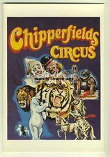 ad2595a  -  Chipperfields Circus   -  modern poster advert postcard