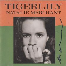 """The """"Tigerlily"""" CD signed by Natalie Merchant"""