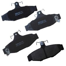 Disc Brake Pad Set-Stop Semi-Metallic Brake Pad Rear Bendix SBM413
