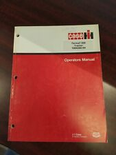 Case IH Farmall 300 Tractor 1004380 R4 Tractor Owner Operator Manual