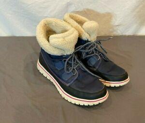 Sorel Cozy Carnival Blue Waterproof Lightweight Winter Boots US 10 EU 41 GREAT