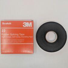 3M Scotch 23 Rubber Splicing Electrical Self Fusing Tape 3/4in x 30ft