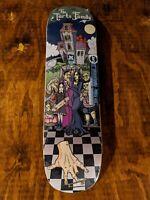 Adam's Family Skateboard Deck- Awesome Art! Rare