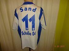 FC Schalke 04 Original Adidas Auswärts Trikot 2001/02 + Nr.11 Sand Gr.L
