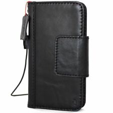 Genuine Leather Case for Apple iPhone X Wallet Holder Handmade Cover Magnetic