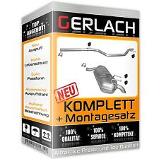 Auspuff Opel Signum 1.9 CDTi 03-08 Vectra C Kombi 1.9 04-09 Auspuffanlage /3074