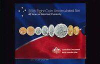 2006  UNC Coin SET Australia uncirculated