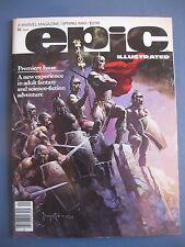 EPIC ILLUSTRATED #1 FINE 1980 MARVEL MAGAZINE #bin16-1762