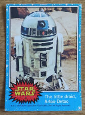 Topps Star Wars trading card blue series 3, The little droid, Artoo-Detoo
