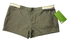 Roxy Juniors Shorts Size 7 Olive Green Casual
