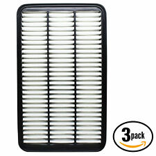 3x Engine Air Filter for 1992-2001 Toyota Camry, 1998-2003 Toyota Sienna