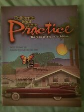 California Real Estate Practice By Walt Huber and Arlette Lyons 7th Edition