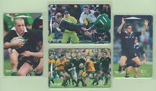 New Zealand - 1998 All Blacks Rugby Set (4)  - NZ-G-185/188 - VFU