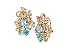 Le Vian Crazies Collection® Multi-Stone Cluster Drop Earrings in 14k Rose Gold