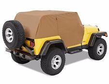 Smittybilt Custom Fit Spice Cab Cover w/ Door Flaps 92-06 Jeep Wrangler YJ TJ