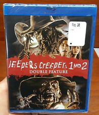 Double Feature (Shout Factory 2018) JEEPERS CREEPERS 1 & 2 on Blu-ray!! New!!!