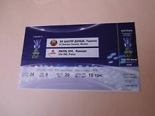 BILLET DONETSK ukraine v LILLE france 2006 football ticket uefa cup