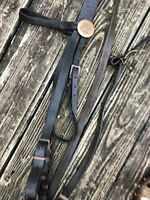 Vintage Officers Calvary M1909?Curb bit & bridle.WwI Era leather Complete Bridle