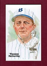 Thomas McCarthy, Dodgers Perez-Steele Hall Of Fame postcard (1 of 10,000 issued)