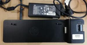 HP EliteBook Folio Docking Station UltraSlim 2013 2x Display Port +120W Netzteil