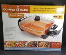 Copper Chef Electric Skillet 12 x 12 Model CM-813