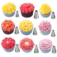 57pcs/set Pastry Bag Confectionery Nozzle Stainless Cream Baking Tool JE MW