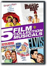 Singin' In The Rain The Music Man Seven Brides for Seven Brothers Dvd New 2 more