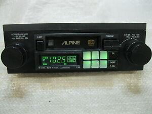 ALPINE 7168 AM/FM CASSETTE RADIO KNOB(SHAFT STYLE) VINTAGE OLD SCHOOL RARE NICE